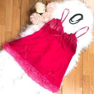 Other - Pink Babydoll Lingerie Dress